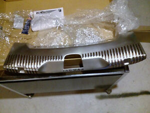 2010 Jaguar XF XFR OEM Trunk Sill Stainless Steel Overlay