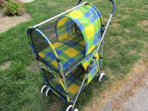 Pet Stroller  ( DOUBLE DECKER )  --- Ideal For CATS or Sm-Dogs