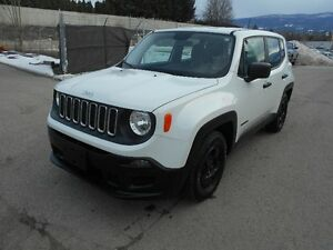 2015 Jeep Renegade 6 Speed FWD Only 15000K SUV, Crossover