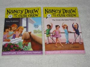 NANCY DREW - THE CLUE CREW - CHAPTERBOOKS - CHECK IT OUT!