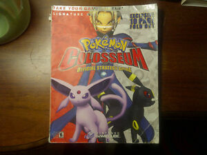 Pokemon Colosseum Official Strategy Guide Signature Series