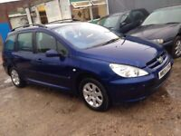 Peugeot 307 20 hdi moted 225 no offers