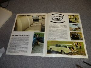 1967 ORIGINAL CHEVY 2 BROCHURE London Ontario image 5
