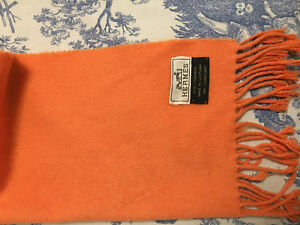 Authentic 100% Cashmere Hermes Scarf for sale!