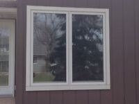 Fenêtre PVC blanche à battant