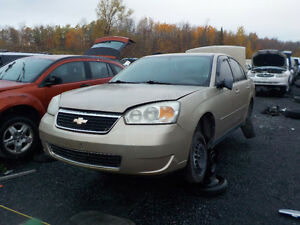 2006 Chevrolet Malibu Now Available At Kenny U-Pull Cornwall