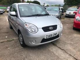 Kia Picanto 1.1 ( 64bhp ) 2011 Picanto 2 ECONOMICAL,CHEAP TAX,66 MPG