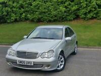 2005 Mercedes-Benz C Class C180K Classic SE 4dr Automatic *** 12 MONTHS MOT- DEL