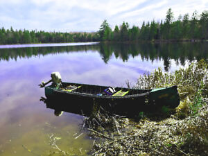Great Canoe / Boat for fishing trout in those back-wood lakes