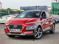 2018 Hyundai Kona Hyundai Kona 1.0T GDi 120 Premium SE 5dr 2WD SUV Petrol Manual