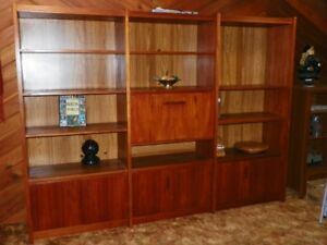 Teak Bookcase/Wall unit