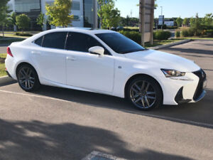 2017 LEXUS IS F-Sport 2 FOR $500 A MONTH TAXES IN!!!!