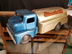 Antique and Vintage toy trucks