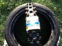 Pit bike tyres new Michelin star cross 12 and 14 inch front and reR