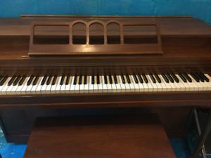 Beloved but no-longer-needed piano
