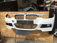 BMW 3 SERIES F30/31 M SPORT COMPLETE FRONT BUMPER