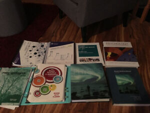 UNIVERSITY FIRST YEAR TEXTBOOKS FOR SALE