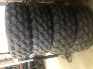 """14"""" quad tires"""