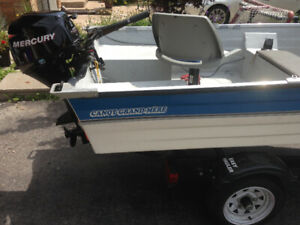 FOR SALE Boat motor and trailer   READY FOR THE WATER!
