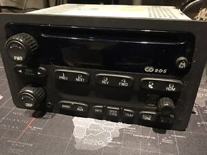 Stock Car Radio CD Player pulled from 01 check venture