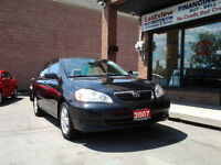 2007 Toyota Corolla SE,AUTO,AIR,ALLOYS,SUNROOF,P/W,P/L.$6499