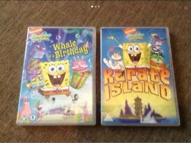 SpongeBob SquarePants DVD's