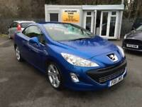 Peugeot 308 CC 2.0HDi ( 140bhp ) FAP Coupe 2011MY GT