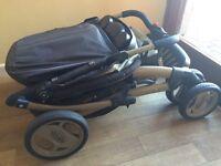 Graco pram and baby seat