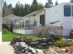 Shuswap Lake Rec Lot w/Resort Trailer#46-667 Waverly Park Front.