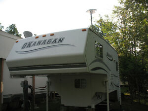 Okanagan truck camper 90 W