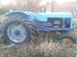 Nueufield Diesel Tractor