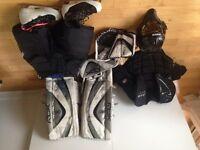 Équipement de gardien complet hockey sur glace