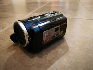 Sony wide angle HD video camera