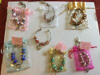 Pandora style bracelets beautiful gifts new with organiser bag