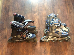 Roller blades (Men size 10 and Women size 8) – 100$