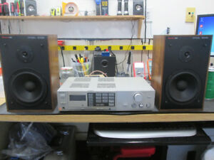 Sony STR-VX250 Receiver + Boston Acoustics A40 (1984)