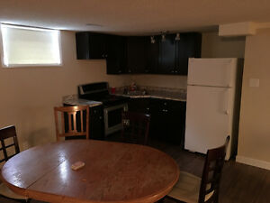 Basement suite east regina
