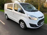 2015 65 FORD CUSTOM DOUBLE CAB LIMITED 2.2 TDCI 290 L1H1