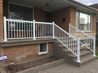 Install High Quality Exterior Railings - 416-887-3335