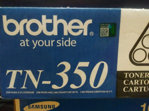 brother TN 350 toner cartridge with free delivery