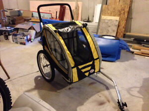 Bell - Fast Glide Double Bike Trailer - Used once St. John's Newfoundland image 1