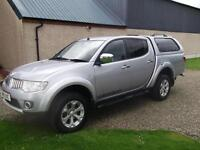 Mitsubishi L200 2.5DI-D 2012 Double Cab Pickup Warrior, Storry 4x4