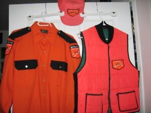 Hunter safety Instructer shirt /vest /hat