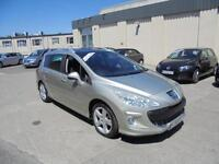 2009 Peugeot 308 SW 1.6HDi ( 112bhp ) FAP Sport 7 Seater Finance Available