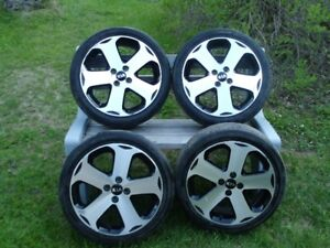 Set of 4 used alloy rims for Kia Rio