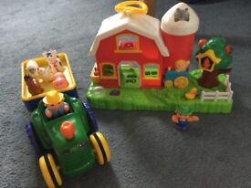 Old McDonalds Farm & Tractor Set