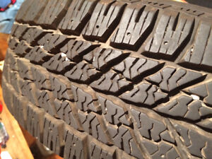 Goodyear Ultra Grip Winter 185-65/15 on rims
