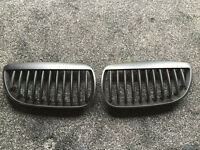 BMW E92 front grill black