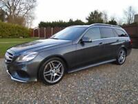 HUGE SPEC 64 REG Mercedes E CLASS E350 3.0 DIESEL 250 BHP 7G AUTO ** AMG SPORT *