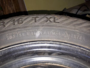 205/55R16 94T Gislaved Nord Frost winter tires and rims